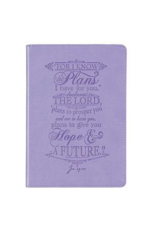 Jurnal de lux - For I know the plans... - Jer. 29:11 - format mare
