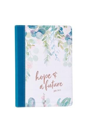 Jurnal de lux - Hope & a Future - Jer. 29:11 - format mare