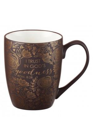 Cană ceramică -- I trust in God's goodness