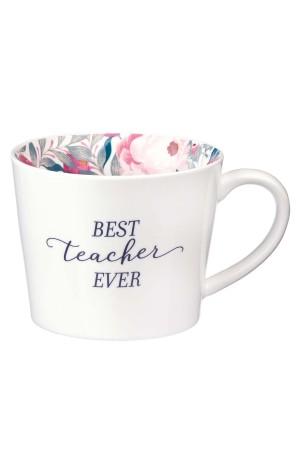 Cană ceramică -- Best teacher ever