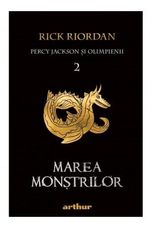 """Marea Monştrilor - seria """"Percy Jackson şi Olimpienii"""", vol. 2"""