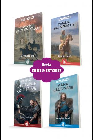 Seria Eroi & Istorie - 4 volume