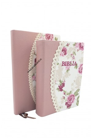 Set Biblie + jurnal handmade - model 18
