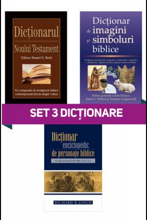 Set 3 dicționare biblice