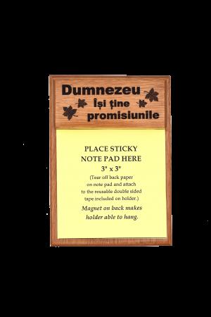 Suport notițe pentru birou - Dumnezeu Își ține promisiunile - GNP2-72R