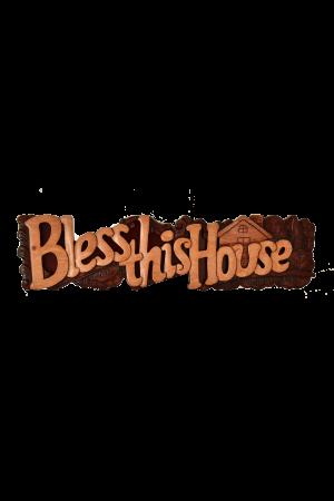 Tablou din lemn - Bless this House - I-33