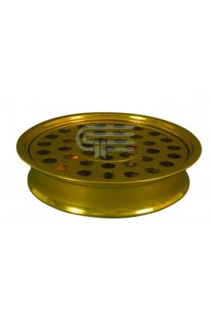 Tavă pentru pahare - MODEL 1 - auriu mat