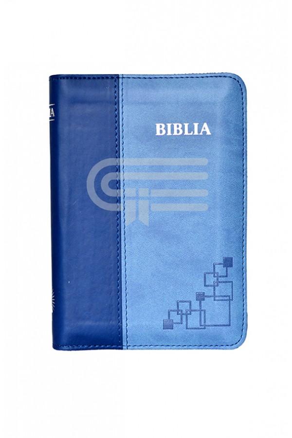 Biblia - format MIC - 046 P - albastru