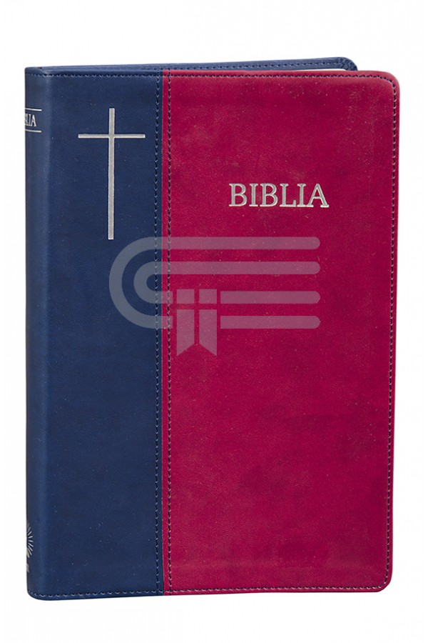 Biblia - ediție aniversară 076 P - bordo - format MARE