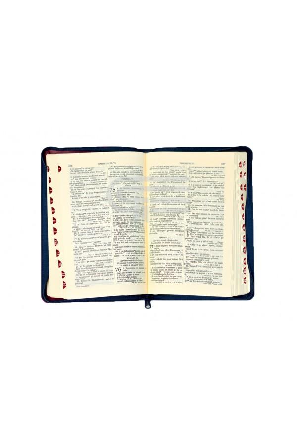 Biblia - ediție aniversară 076 PF - verde - format MARE