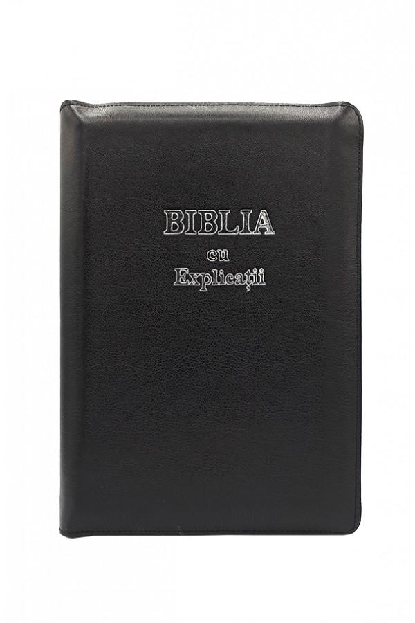 Biblia - ediție de lux 077 ZTI  - argintiu