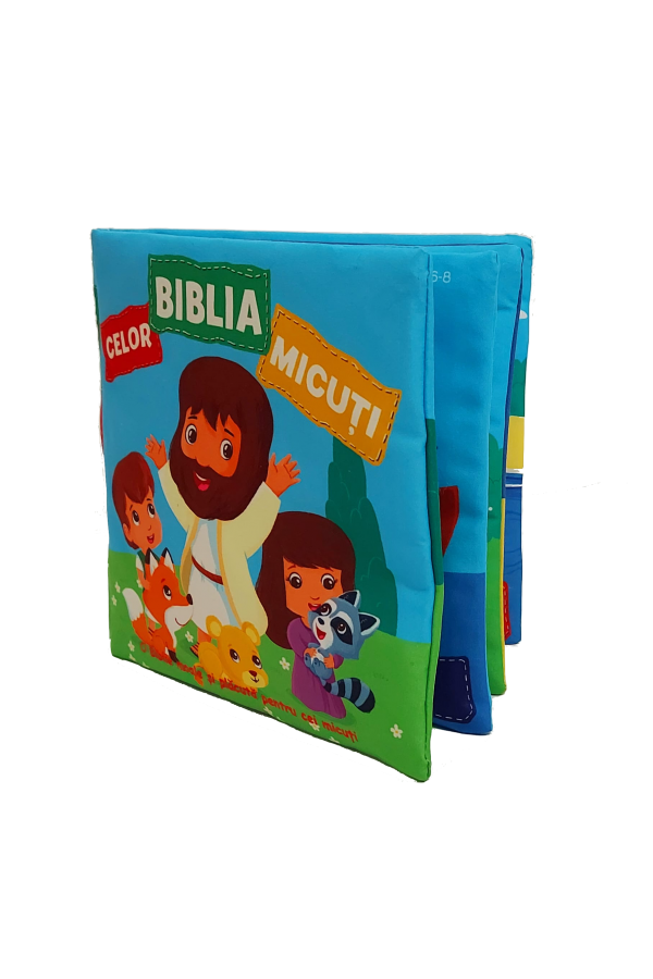 Biblia celor micuți - carte din material textil