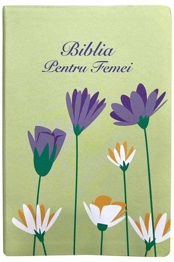 Biblia pentru femei - verde, mare