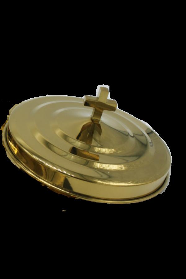 Capac pentru farfuria cu pâine - MODEL 2 - auriu lucios