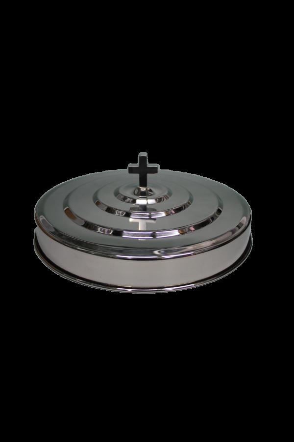 Capac pentru tăvile cu pahare - MODEL 2 - argintiu lucios
