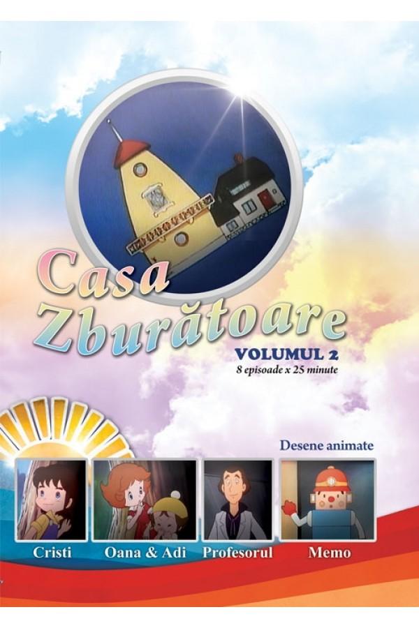 Casa zburătoare - volumul 2 - desene animate