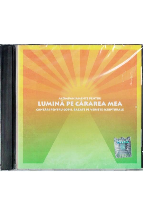 CD acompaniament - Lumină pe cărarea mea