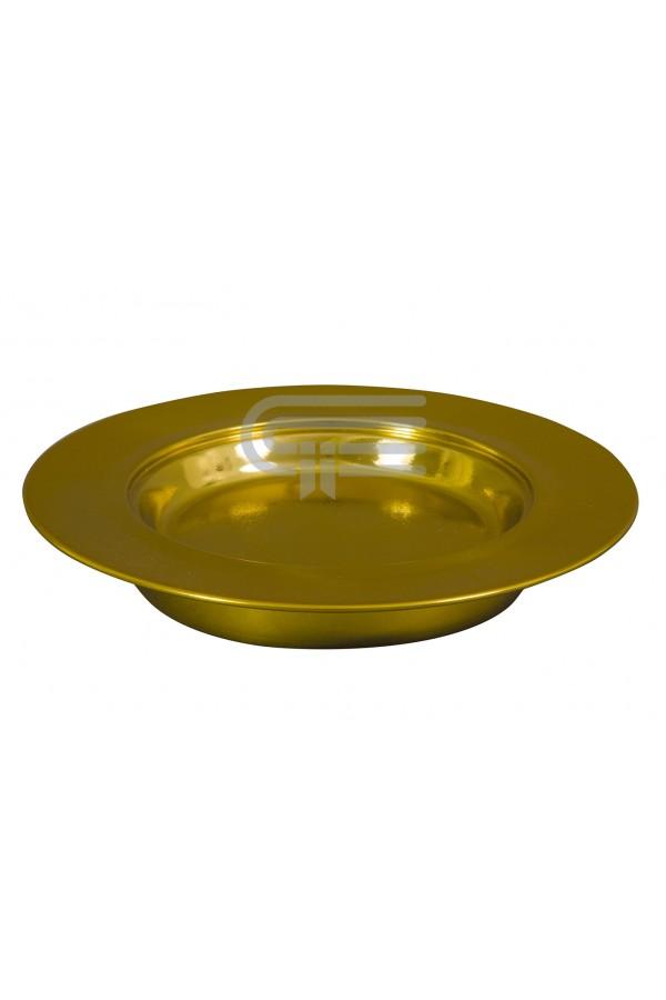 Farfurie pentru pâine - MODEL 1 - auriu mat