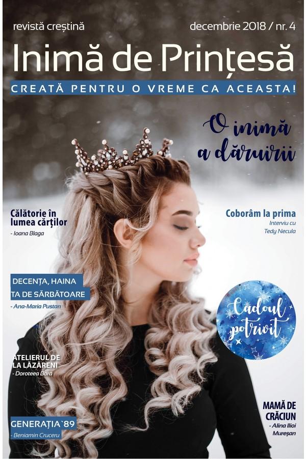 """Revistă creștină Inimă de Prințesă - Nr. 4 """"O inimă a dăruirii"""""""