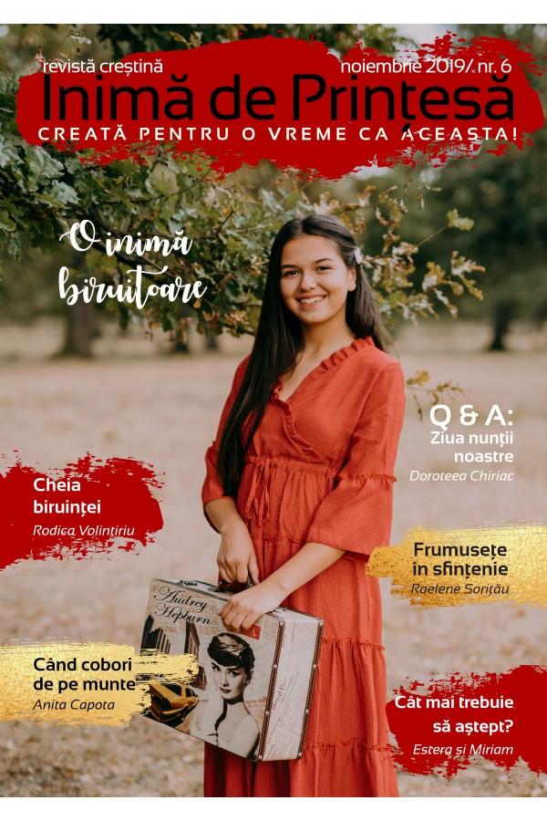 """Revistă creștină Inimă de Prințesă - Nr. 6 """"O inimă biruitoare"""""""