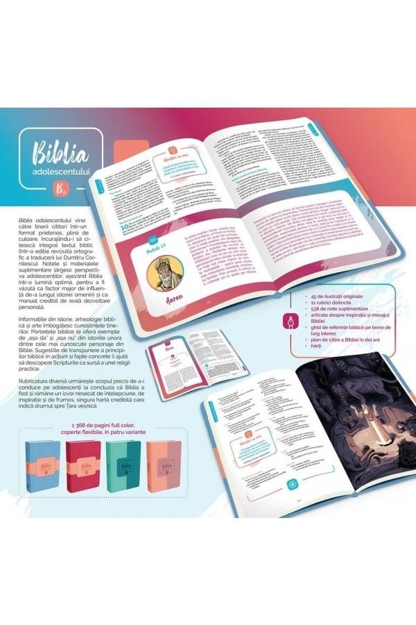Biblia adolescentului - copertă portocalie
