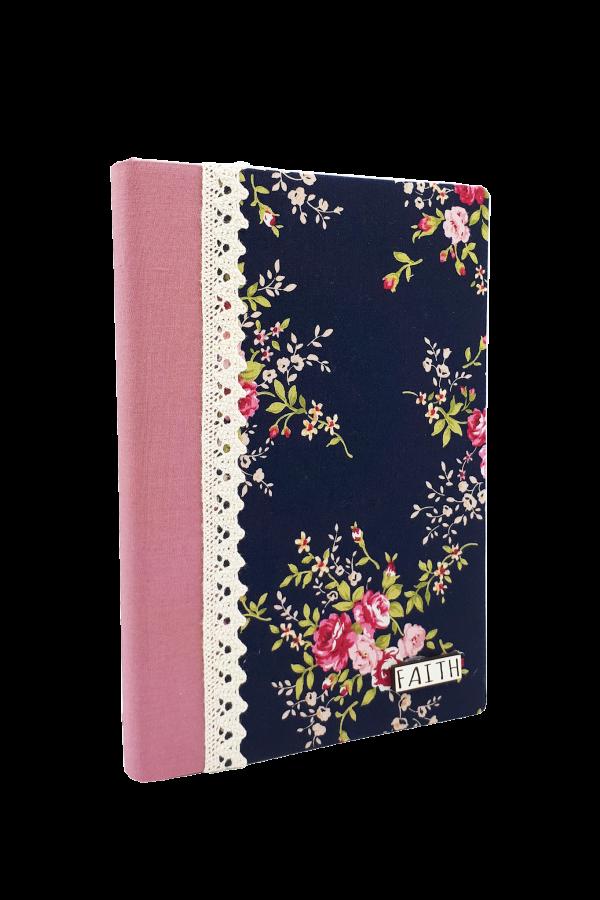 Jurnal handmade - model floral 16