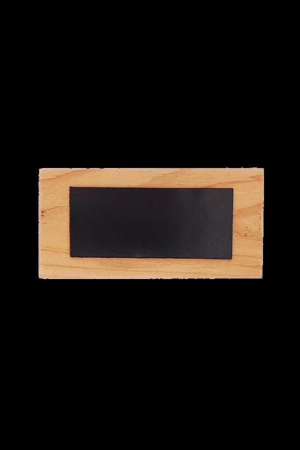 Magnet din lemn - Dragostea nu va pieri niciodată - EP14M-65R