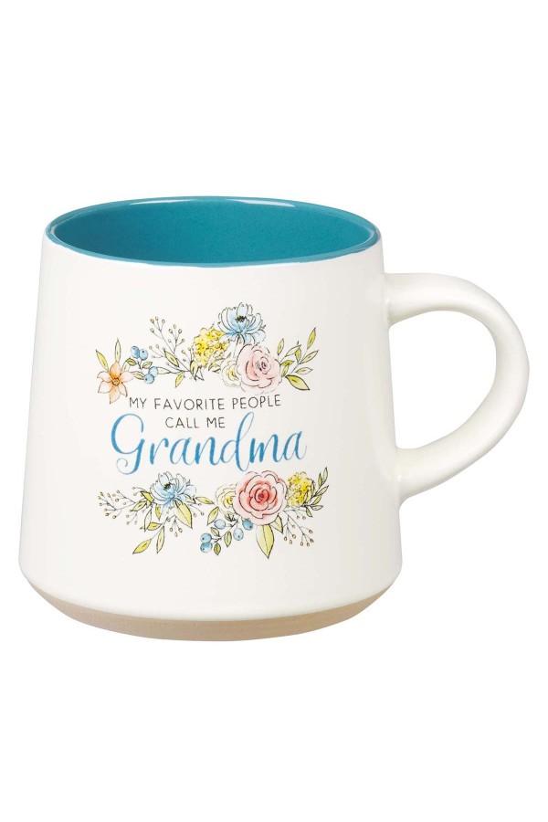 Cană ceramică -- My favorite people call me Grandma
