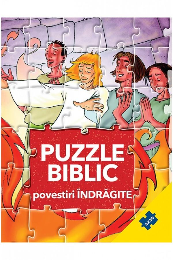 Puzzle biblic - povestiri îndrăgite