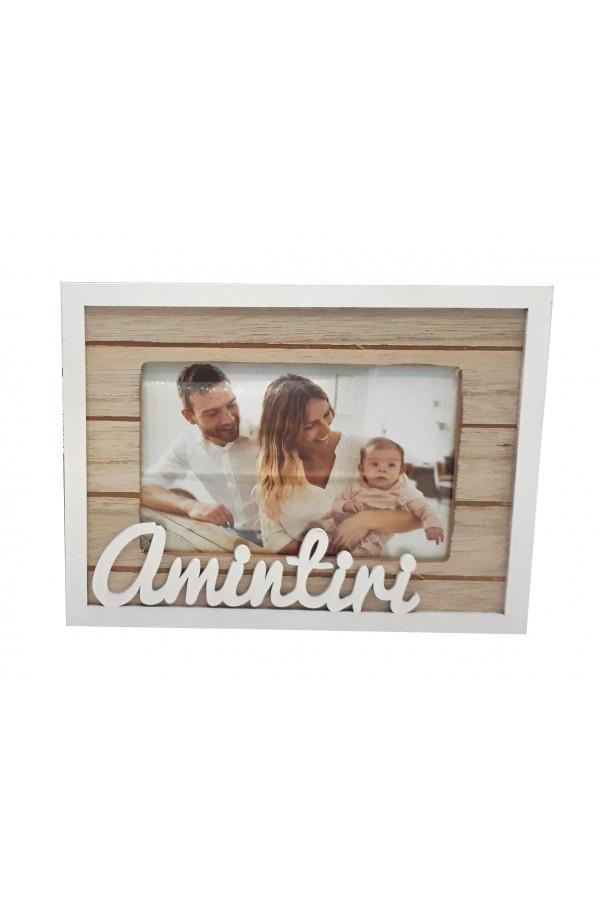 Ramă foto din lemn - Amintiri