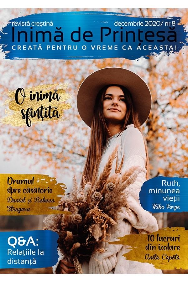 """Revistă creștină Inimă de Prințesă - Nr. 8 """"O inimă sfințită"""""""