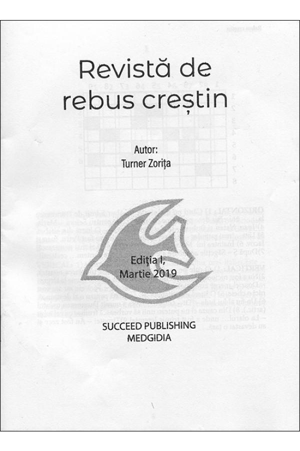 Revistă de rebus creștin. Ed. I, martie 2019
