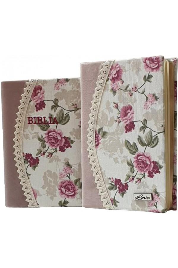 Set Biblie + jurnal handmade - model 18