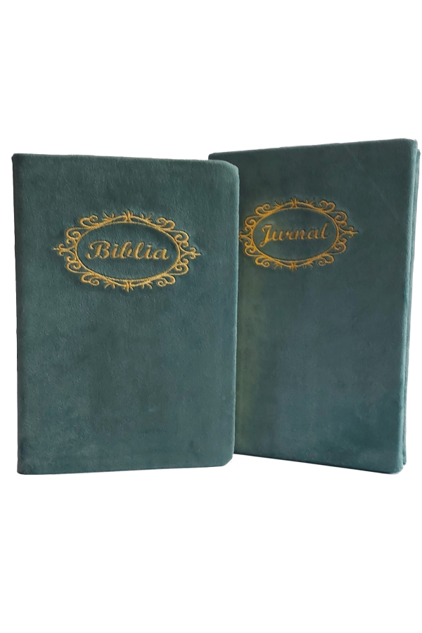 Set Biblie + jurnal handmade - model 24