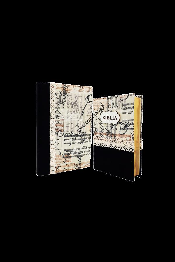 Set Biblie + jurnal handmade - model 13