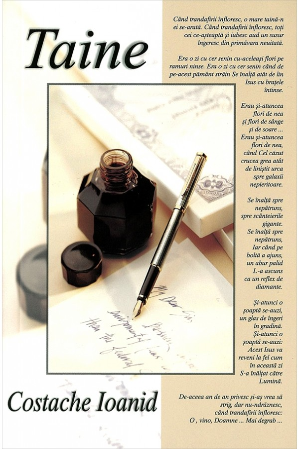 Taine-poezii crestine-Costache Ioanid-front cover