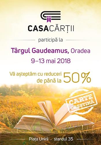 Targul Gaudeamus la Oradea 2018
